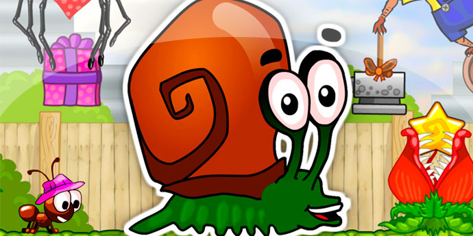Snail Bob Meet The Most Popular Snail In The Gaming World